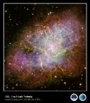 M1,  Nebulosa del Cangrejo