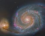M51 tomada por el instrumento OSIRIS en el GTC